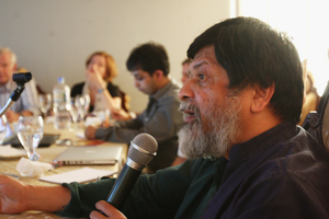Shahidul Alam at stakeholder's meeting Palmer-Academy-012710.IMG_1052