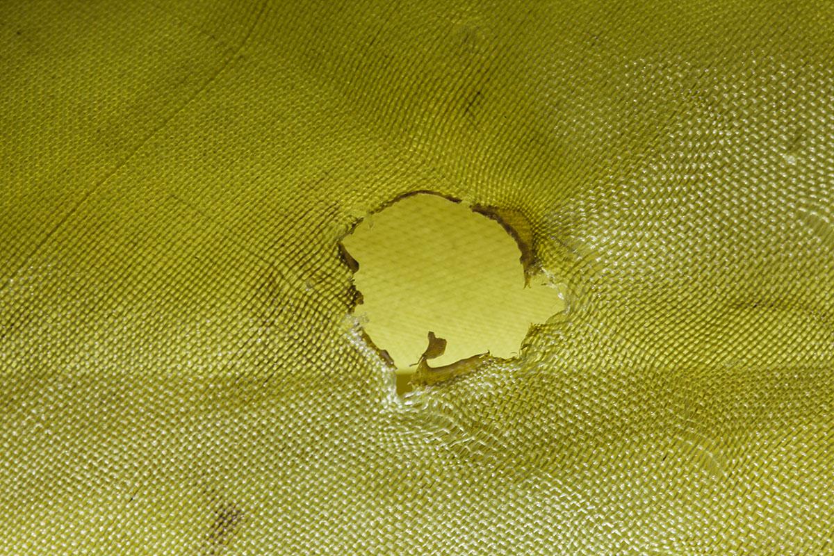 Hole in Kalpana's orna