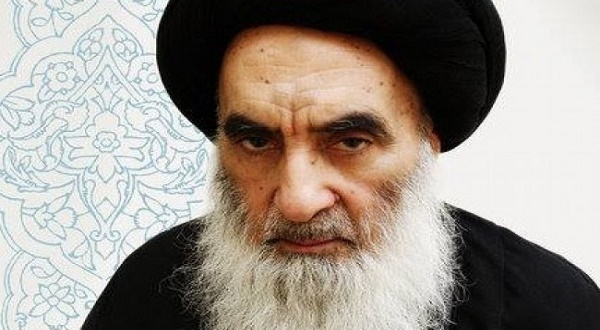 Grand Ayatollah Ali Al Sistani of Iraq