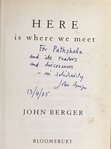 Here is where we meet Berger