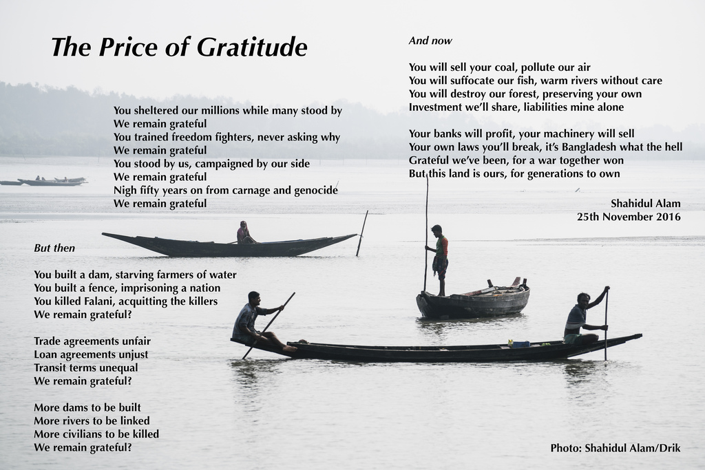 The Price of Gratitude
